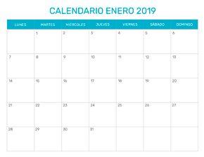 Calendario Imprimir Abril 2019.Calendario Mensual Para Imprimir Ano 2019