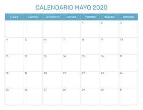 Calendario Julio 2020 Para Imprimir.Calendario Mensual Para Imprimir Ano 2020