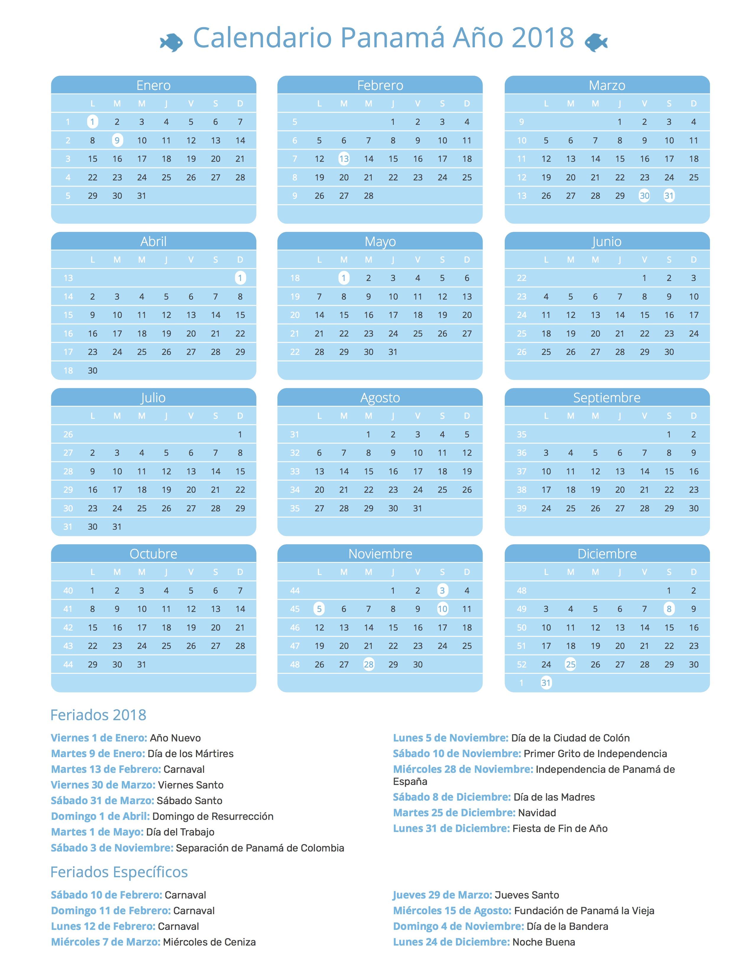 Calendario Panama 2018.Index Of Print Calendario Agua 2018