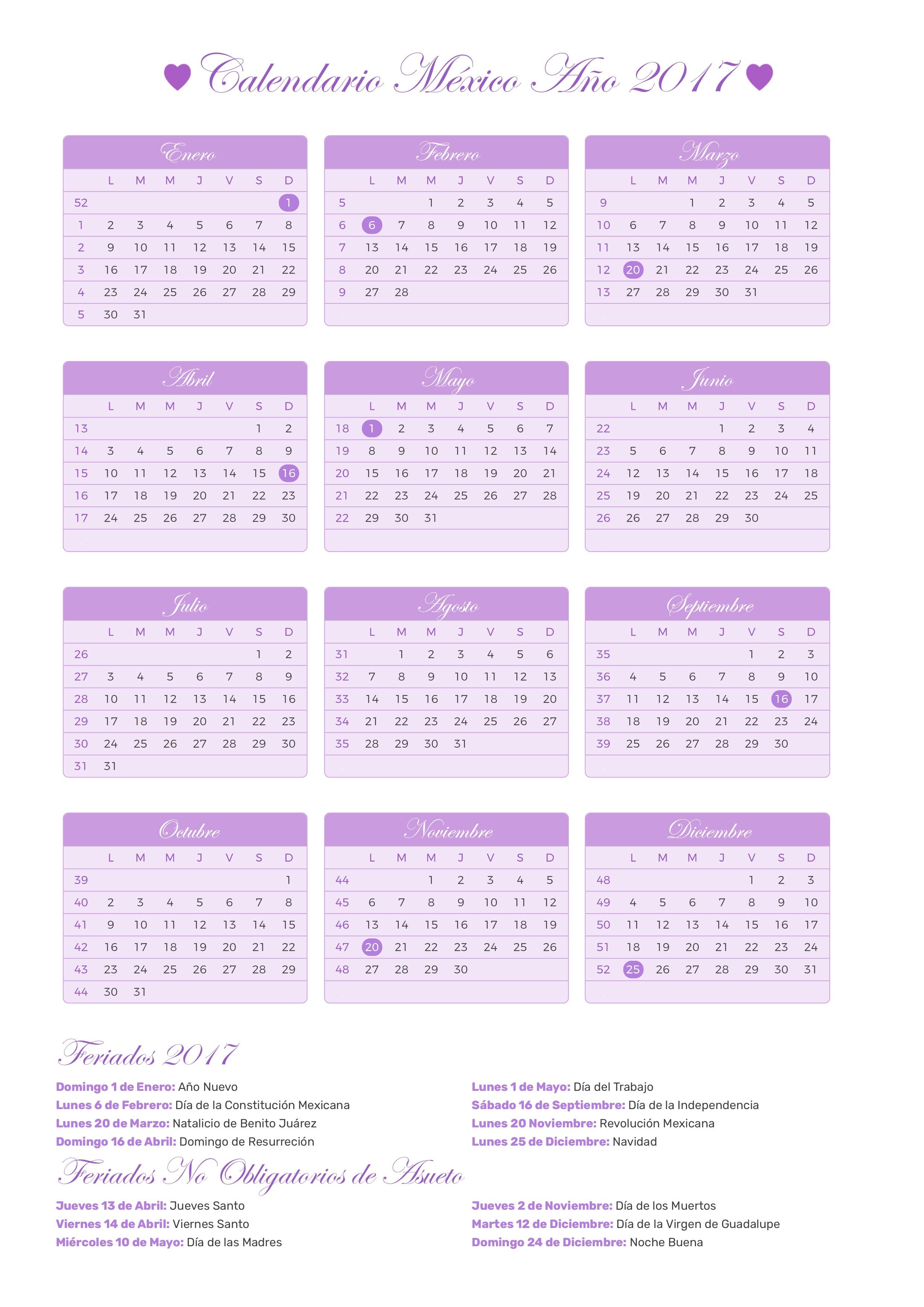 calendario futbol mexicano 2017 pdf