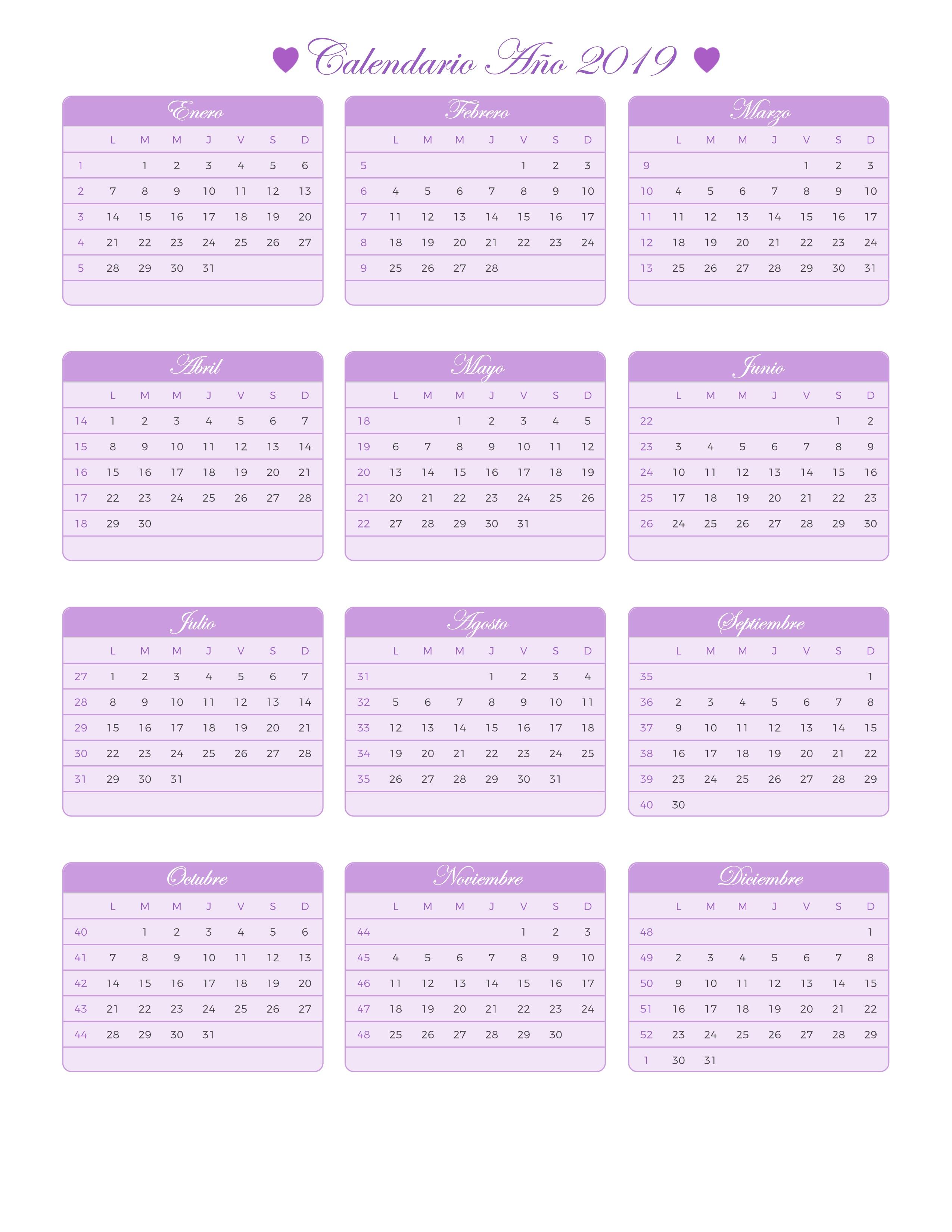 Calendario.Index Of Print Calendario Princesa 2019