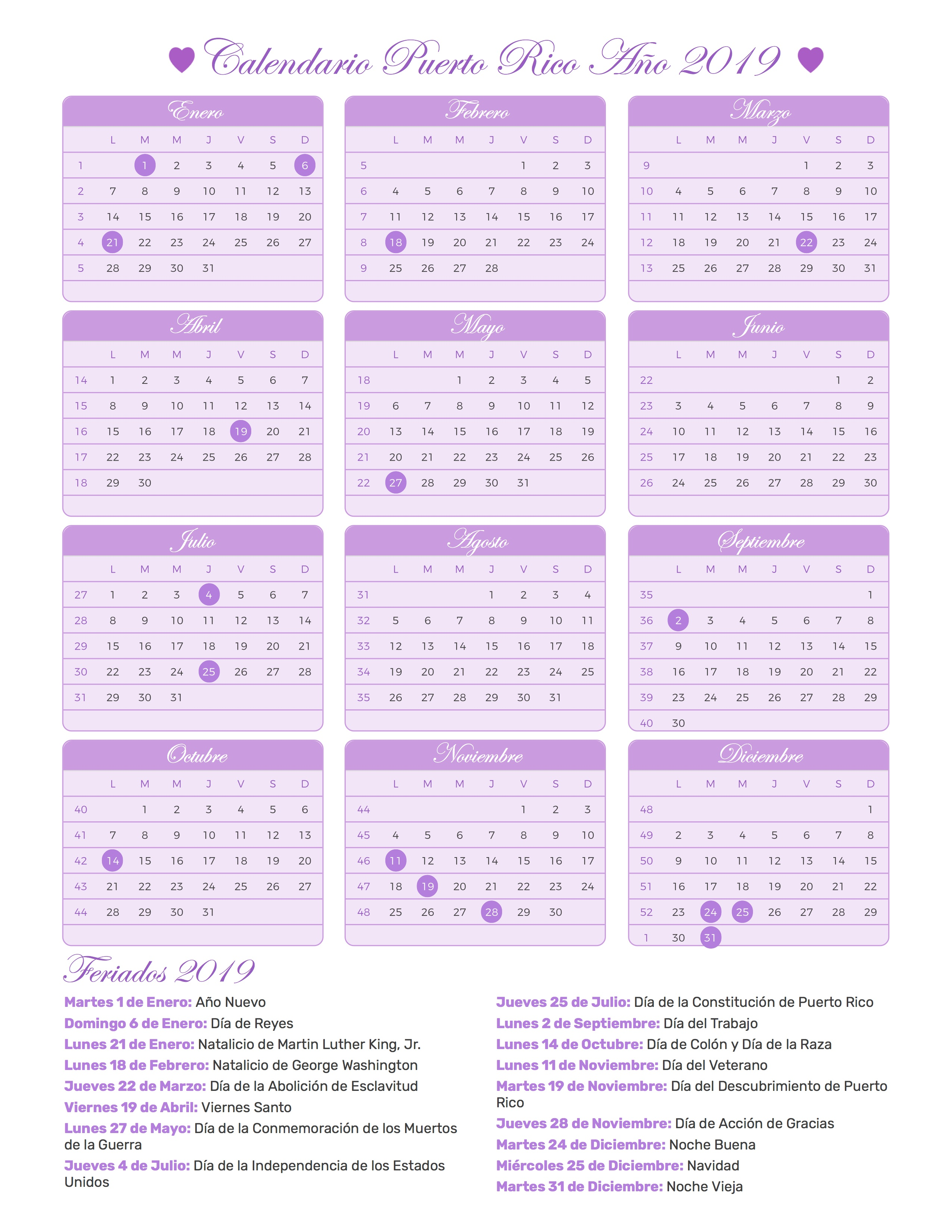 Index Of Print Calendario Princesa 2019