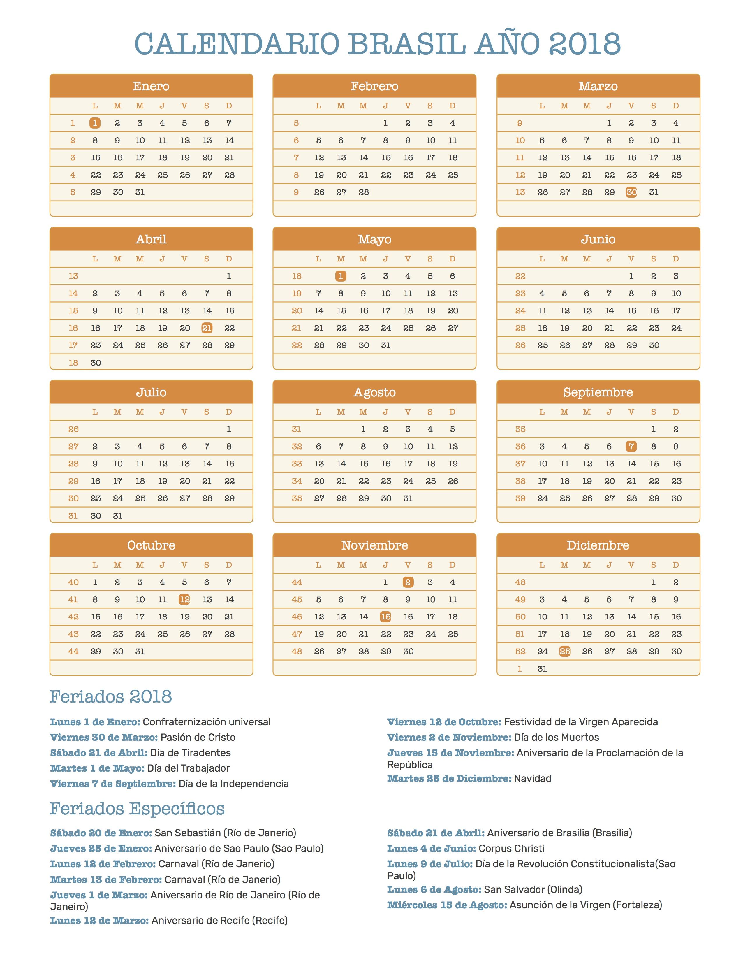Calendario 2018 Brasil.Index Of Print Calendario Retro 2018